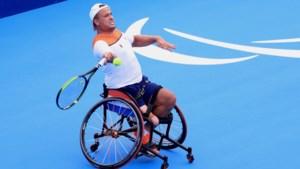 Rolstoeltennisser Egberink naar paralympische finale in Tokio