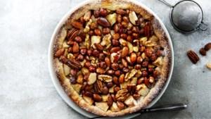 Met ijs, zonder ijs: deze appel-notentaart van Janneke Philippi is de ultieme verwennerij