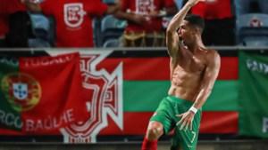 Cristiano Ronaldo interlandtopscorer aller tijden na Houdini-act