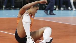 Italië maatje te groot voor volleybalsters: 'Trots op hoe we hebben gevochten'