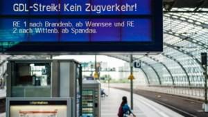 Spoorwegstaking in Duitsland gaat voorlopig door