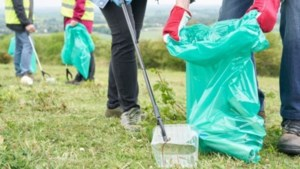 Mars van Sittard naar Geleen tijdens World Cleanup Day