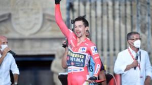 Roglic lachend naar hattrick: 'Primoz is niet alleen een geweldige renner, maar ook een grappig mannetje'