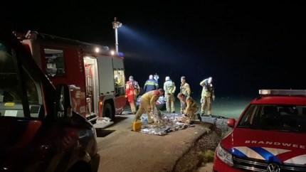 Vermiste man na urenlange zoektocht uit het water gehaald bij Well