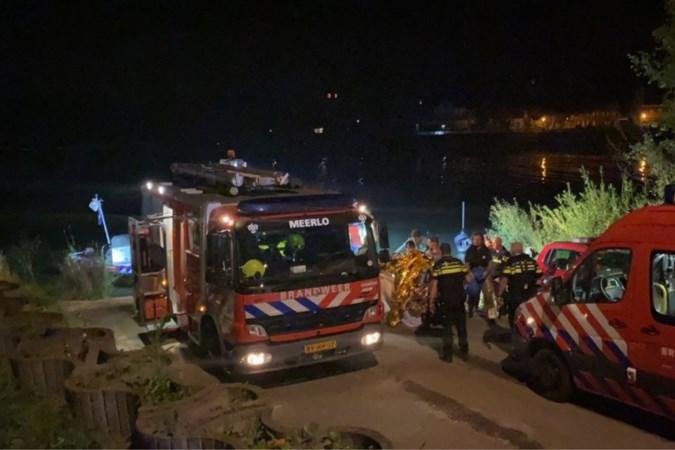 Man die uit de Maas werd gered, ging vermoedelijk bewust het water in