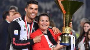 Ronaldo legde zijn moeder een stadionverbod op