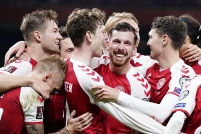 Denemarken blijft na Eriksen-drama ook indruk maken in WK-kwalificatie