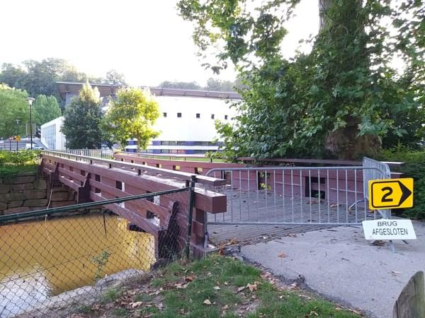 Loopbrug over de Geul bij Polfermolen is onherstelbaar beschadigd en wordt vervangen
