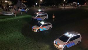 Honderden studenten in stadspark Maastricht: politie grijpt in