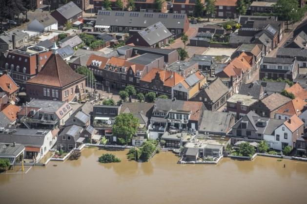 Waterschade in Limburg was nu groter dan in 1993 en 1995