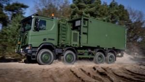 550 nieuwe vrachtwagens Defensie zijn te hoog, mogen weg niet op