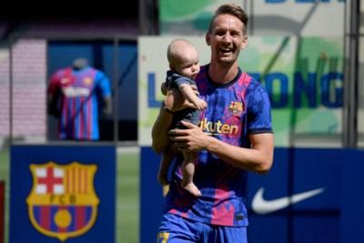 Luuk de Jong op plek van Lionel Messi bij Barça