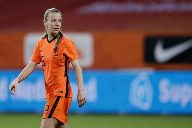 Geblesseerde Lynn Wilms in Wolfsburg: 'Het is vaak eenzaam'