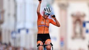 Wielrenster Van Dijk verovert Europese titel op de weg