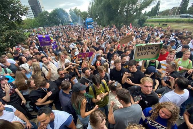 Duizenden Unmute-betogers trekken door Maastricht