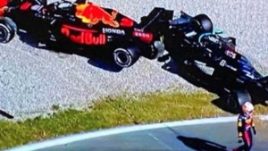 Drama in Monza: Max Verstappen en Lewis Hamilton crashen samen