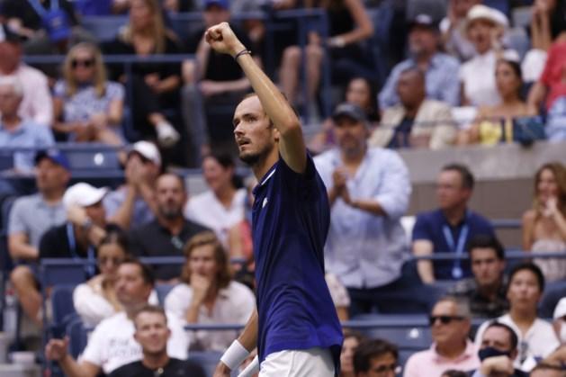 Medvedev voorkomt op US Open 21e grandslamtitel Djokovic