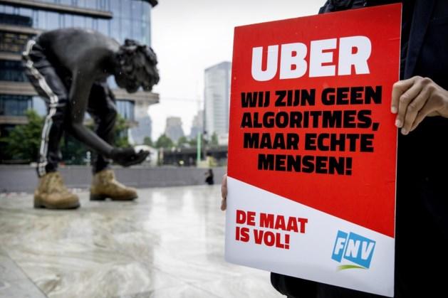 Taxi-app Uber moet van rechter chauffeurs in dienst nemen