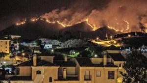 Nederlanders aan de Costa del Sol: 'Vlammen slaan van de berg'