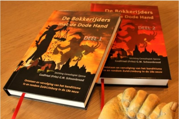 Boekpresentatie De Bokkerijders met de Dode Hand in Schinnen