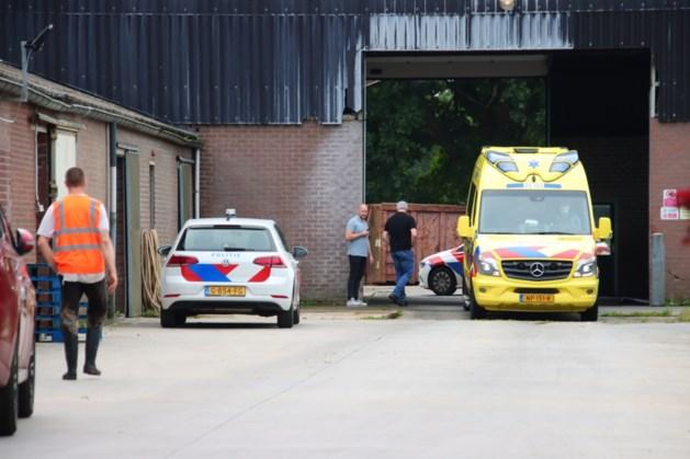 Een gewonde naar het ziekenhuis na ongeval bij bedrijf in Horst