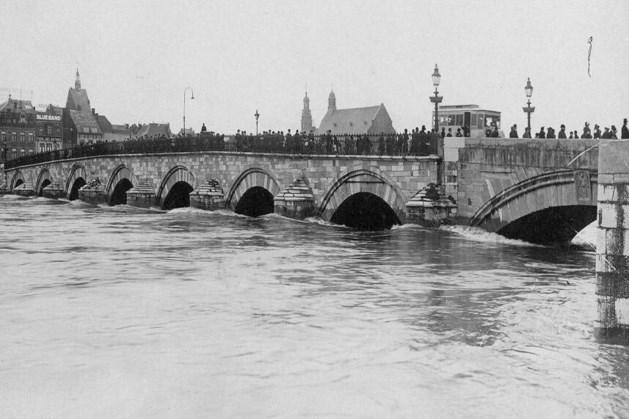 Overstroming van de Maas in 1740: het hele Maas- en Rijngebied werd getroffen door het smelten van gevallen sneeuw