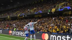 Valse start voor Cristiano Ronaldo en Manchester United in Champions League