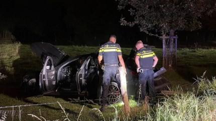 Een gewonde na ongeval met twee auto's