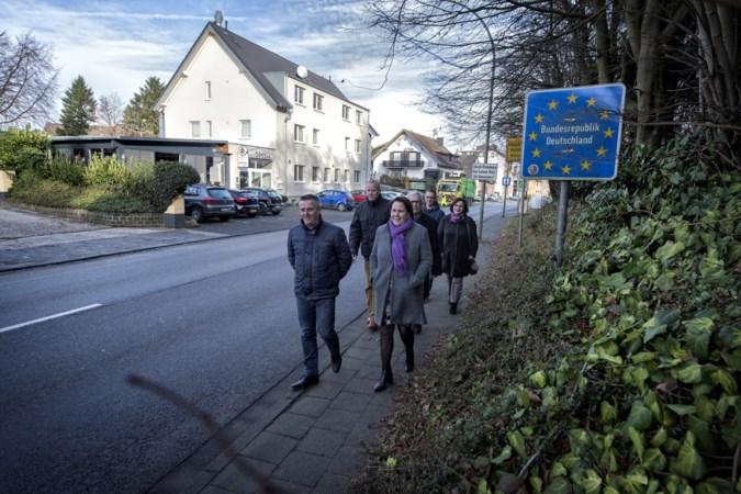 Grensstraat Waubach gaat dicht voor alle vrachtverkeer