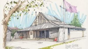 Scouting Mgr.Feron kan na anderhalf jaar eindelijk het vernieuwde clubgebouw in gebruik nemen