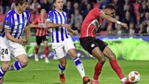 PSV kan Real Sociedad niet van zich af schudden