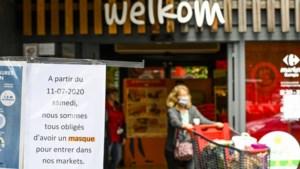 Belgen hoeven niet meer in café of winkel mondkapje op