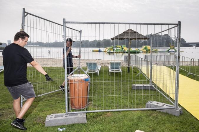 Dit jaar moet de Roermond City Triathlon nog met de rem erop, straks moet het een écht feestje worden