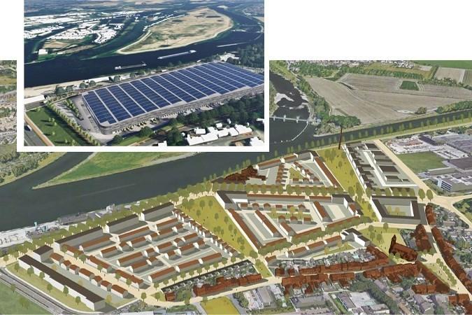 Plan megaloods Maastricht: Leeijen steunt subsidie-aanvraag voor woonwijk aan de Maas