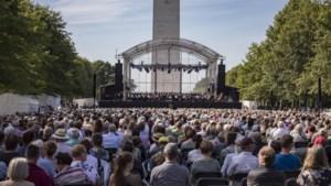 Liberation Concert op de Amerikaanse begraafplaats