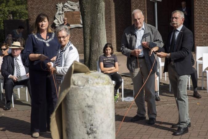 WOII-monument Nederweert-Eind door nabestaanden onthuld: 'Triest dat we niets geleerd hebben van de oorlog'