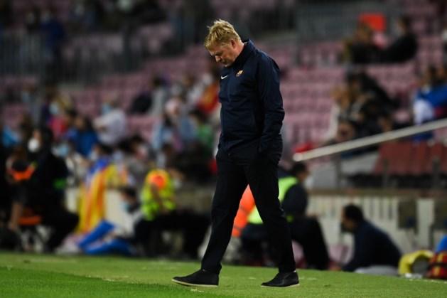 Barcelona ontsnapt in slotfase aan nederlaag