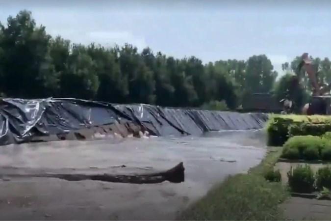 Terwijl Rijkswaterstaat en gemeente steggelen over aansprakelijkheid, willen inwoners van Horn compensatie na het hoogwater van juli