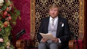 Koning in troonrede: dood Peter R. de Vries nieuw dieptepunt