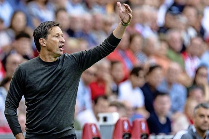 PSV-trainer Roger Schmidt begrijpt commotie rond wisselbeleid niet