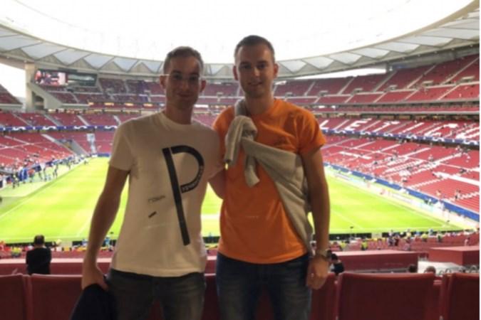 Twee broers York en Milan Ruber hopen samen te scoren als spitsen van VV Zwentibold