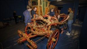In Thorn reed al een gouden koets lang voordat koningin Wilhelmina er een cadeau kreeg