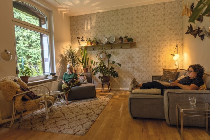 Eigenlijk wilden Grace en Susan een tiny house, maar dit mijnwerkershuisje in Landgraaf is een perfect match