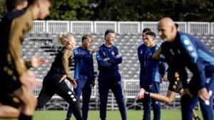 Louis van Gaal na Telstar-training: 'Het was een beetje hottentottenvoetbal'