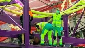 Medewerker van kermisattractie in Hasselt valt naar beneden