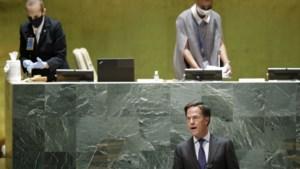 Rutte in toespraak bij VN over corona: 'Niemand veilig tot iedereen veilig is'