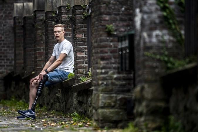 Limburgse Mitch was op zijn achttiende rijp voor amputatie: 'Die voet moest eraf, klaar!'
