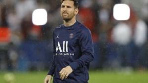 Messi na blessure terug op het veld, maar mist competitieduel