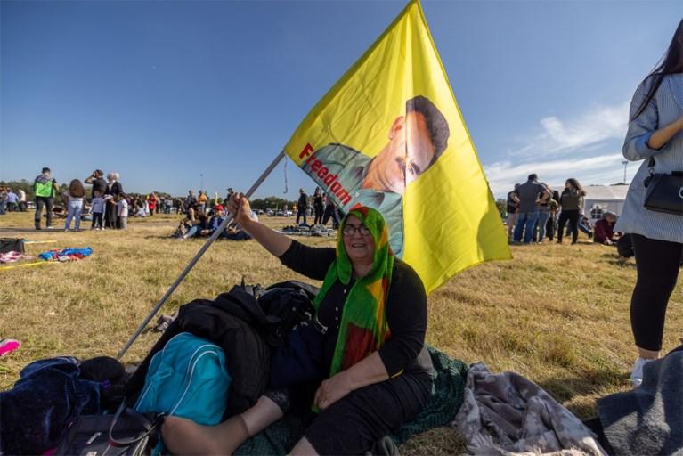 Video: Duizenden Koerden bijeen op demonstratie in Landgraaf