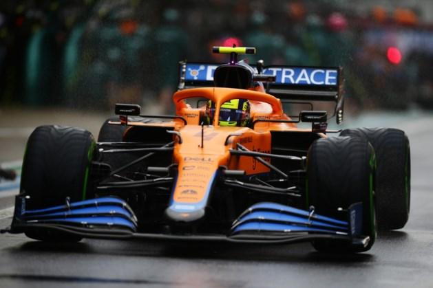 Botsende Hamilton niet in top drie na knotsgek einde in kwalificatie Sotsji